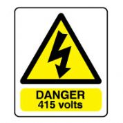 Warn097 - Danger 415 Volts 2